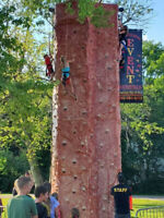 Climbing Wall, Inflatables, Fun Foods