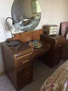 Antique Drssing Table and Mirror