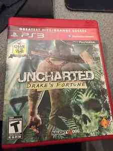 Uncharted 1 : Drake's Fortune PS3