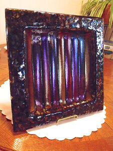 """Beautiful """" Fused Glass"""" or Boiled Glass Art"""