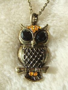 New Vintage Style Owl Necklaces + FREE OFFER