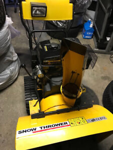 Snow blower 11HP LONCIN very strong machine