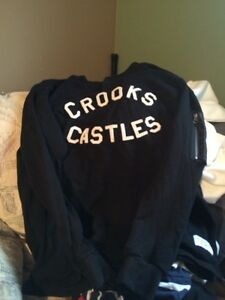 Crooks and castles long sleeve sweater