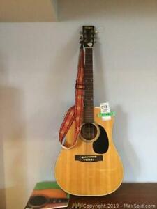 El Degas Acoustic Guitar A