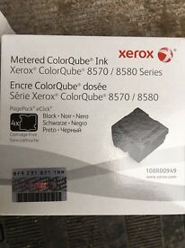 Xerox wax