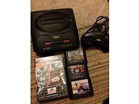 Sega Megadrive 2 console bundle