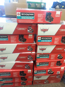 Adjustable skates.  Schwinn and Disney cars 12-2 & 3-6