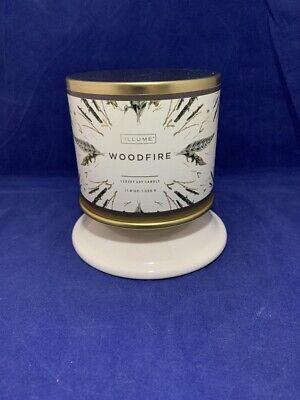 Illume Holiday Large Tin: Woodfire.  #1