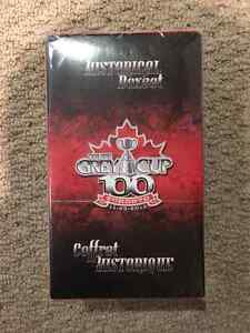Factory plastic-wrapped 2012 100th Grey Cup football card set