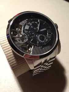 Silver Fossil Stainless Steel Watch