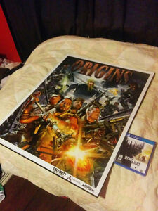 Black Ops 2 Origins Poster (Limited Edition) 33x26 Kitchener / Waterloo Kitchener Area image 1