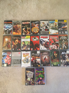 Sony Playstation Portable Games