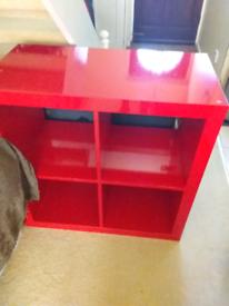 Ikea kallax 4 cubes storage shelves
