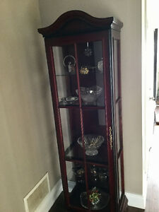 BOMBAY CO DISPLAY CABINET
