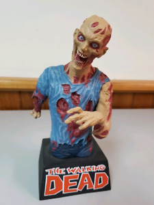 The walking dead bank. Zombie. Coin bank