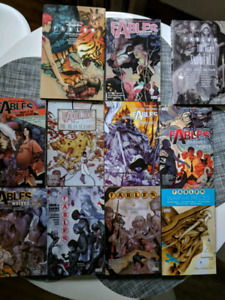 Fables Graphic novels vol 1-11 plus 1001 nights of snowfall