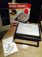 George Forman Healthy Cooking Family Grill - in the box