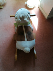 Reindeer ride on toy