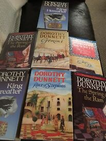 Dorothy Dunnett collection- all first editions