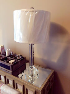 NEW GLASS LAMP