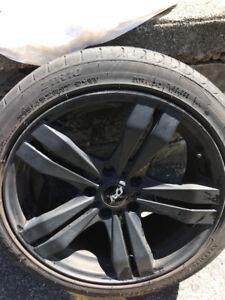 ***DAT wheels / low profile / matte black***