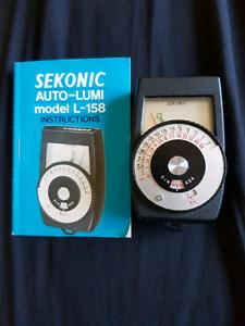 Sekonic light sensitivity meter 20 obo