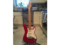 1992-93 japanese early silver logo fender squier stratocaster