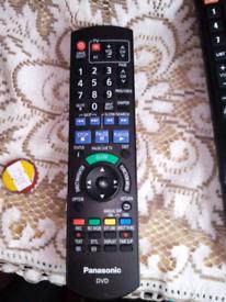 PANASONIC DVD AND TV REMOTE CONTROL
