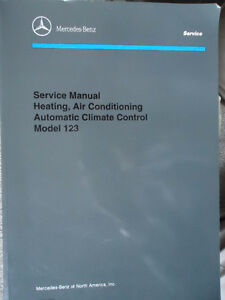 Mercedes Service Manual Heating,Air Conditioning Automatic Clima