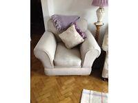 Grey armchair