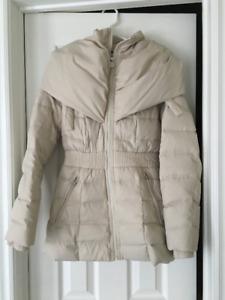 Cream Puffer Coat