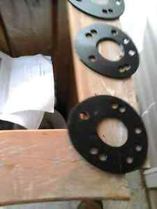 Wheel spacers 5mm 5x100 and 4x100