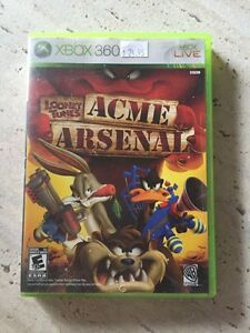 Xbox 360 Game - Looney Tunes - Acme Arsenal
