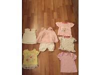 Girls t-shirt bundle upto 3 months