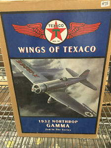 Wings of Texaco collector die cast airplane banks