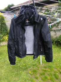 Black medium superdry jacket