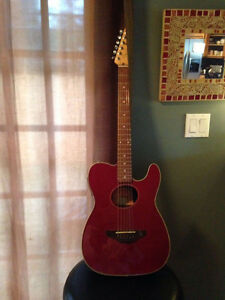 Fender Telecoustic guitar - unique find!