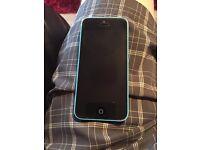 iPhone 5c, blue, EE, 8gb