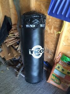 Punching bag 75 pounds