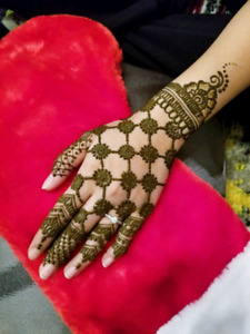 Henna Tattoo starts from $4. Professional henna tattoo Artist