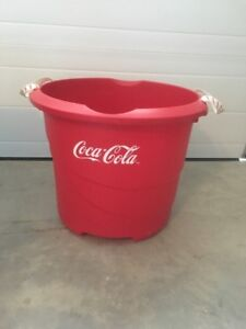 For Sale: Large Plastic Coca-Cola Bin