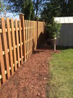 Fence and DECKS - last minute