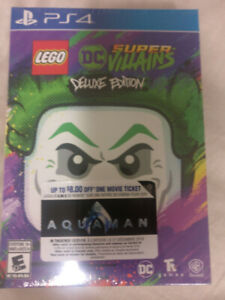 Lego DC Super Villains Deluxe Edition BNIB - PS4