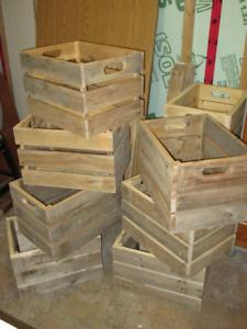 FAITE VITE! : Caisse de bois recyclé