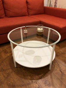 VITTSJÖ White Ikea Coffee table