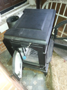 Wood stove never been used