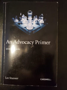 An Advocacy Primer (Fourth edition)