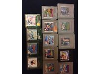 Gameboy and gameboy color games