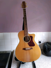 Walden natura electro acoustic guitar.