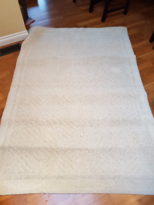 Wool Area Rug 54 Inches by 80 Inches